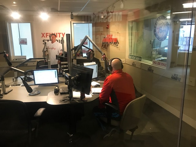 Jason and Harry in studio