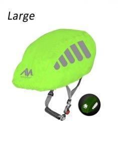 reflective rain helmet